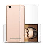 preiswerte Handyhüllen-Hülle Für Xiaomi Redmi 4a Transparent Rückseite Solide Weich TPU für Xiaomi Redmi 4A