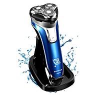 abordables Pequeños Electrodomésticos-FLYCO Máquinas de afeitar eléctricas para Hombre 110-220 V Luz Indicadora de Encendido / Poco ruido / Cargado rápido / Lavable / Indicador de carga
