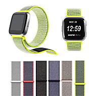 cheap Cell Phone Accessories-Watch Band for Fitbit Versa Fitbit Modern Buckle Nylon Wrist Strap