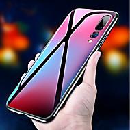 preiswerte Handyhüllen-Hülle Für Huawei P20 / P20 Pro Stoßresistent / Spiegel Rückseite Solide Hart Gehärtetes Glas für Huawei P20 / Huawei P20 Pro / Huawei P20