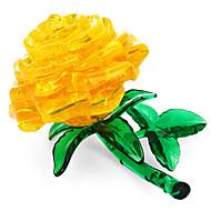 お買い得  おもちゃ & ホビーアクセサリー-3Dパズル / クリスタルパズル フローラルテーマ オフィスデスクのおもちゃ Acryic / ポリエステル 44pcs 大人 / 中級 フリーサイズ ギフト