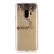 Недорогие Чехлы и кейсы для Galaxy S9 Plus-Кейс для Назначение SSamsung Galaxy S9 S9 Plus С узором Кейс на заднюю панель Мультипликация Мягкий ТПУ для S9 Plus S9 S8 Plus S8 S7 edge
