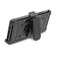 Недорогие Чехлы и кейсы для Galaxy Note-Кейс для Назначение SSamsung Galaxy Note 8 Защита от удара со стендом броня Кейс на заднюю панель броня Твердый ПК для Note 8