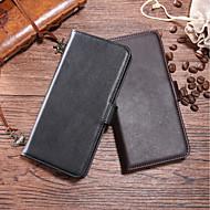 preiswerte Handyhüllen-Hülle Für HTC U11 / HTC Desire 12 Geldbeutel / Kreditkartenfächer / Flipbare Hülle Ganzkörper-Gehäuse Solide Hart Echtleder für HTC U11