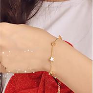 cheap -Women's Star Chain Bracelet - Metallic / Fashion Gold Bracelet For Daily / Street / Women's / Star