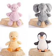 cheap -Penguin / Elephant / Chicken Stuffed Animal Plush Toy Animals / Cute / Lovely Acrylic / Cotton Gift 1 pcs