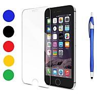 Недорогие Защитные плёнки для экранов iPhone 8-Защитная плёнка для экрана для Apple iPhone 8 / iPhone 7 Закаленное стекло 1 ед. Защитная пленка для экрана / Протектор объектива спереди