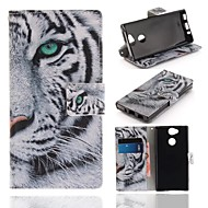 Case For Sony Sony Xperia XA2 Wallet / Card Holder / with Stand Full Body Cases Animal Hard PU Leather for Xperia XA2