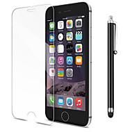 Недорогие Защитные плёнки для экранов iPhone 8-Защитная плёнка для экрана для Apple iPhone 8 / iPhone 7 Закаленное стекло 1 ед. Защитная пленка для экрана HD / Уровень защиты 9H /