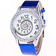 Women's Wrist Watch Quartz Black / White / Blue Chronograph Lovely Large Dial Analog Ladies Bangle Elegant - Coffee Red Blue One Year Battery Life