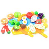 preiswerte Spielzeuge & Spiele-Tue so als ob du spielst Lebensmittel / Frucht Eltern-Kind-Interaktion Plastikschale Alles Vorschule Geschenk 20 pcs