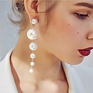 preiswerte -Damen Mehrschichtig Tropfen-Ohrringe - Künstliche Perle Europäisch, Modisch Gold Für Normal