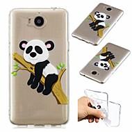 preiswerte Handyhüllen-Hülle Für Huawei Y5 III(Y5 2017) Stoßresistent / Ultra dünn / Transparent Rückseite Panda Weich TPU für Huawei Y520