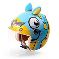 お買い得  -YEMA animal world ハーフヘルメット 子供 男女兼用 オートバイのヘルメット 耐衝撃 / 紫外線カット / 防風