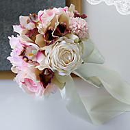 abordables Flores Artificiales-Flores Artificiales 1 Rama Sencilla Boda Lirios Flor de Mesa