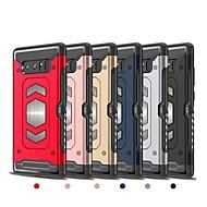 Недорогие Чехлы и кейсы для Galaxy Note 8-Кейс для Назначение SSamsung Galaxy Note 8 Бумажник для карт Кейс на заднюю панель броня Твердый ТПУ для Note 8