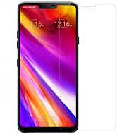 お買い得  スクリーンプロテクター-スクリーンプロテクター のために LG LG G7 ThinQ 強化ガラス 1枚 フルボディプロテクター ハイディフィニション(HD) / 硬度9H / 2.5Dラウンドカットエッジ