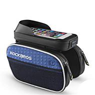 お買い得  サイクリング&自転車用アクセサリー-ROCKBROS 携帯電話バッグ / 自転車用フレームバッグ 6 インチ 防水 サイクリング のために iPhone 8 Plus / 7 Plus / 6S Plus / 6 Plus グリーン