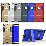 お買い得  携帯電話ケース-ケース 用途 Huawei P8 スタンド付き バックカバー ソリッド ハード PC のために Huawei P8