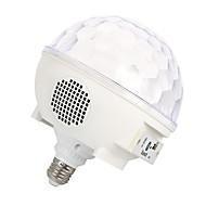 お買い得  -YouOKLight 1個 6 W - E26 / E27 LEDスマート電球 7 LEDビーズ SMD 5050 Bluetooth / 装飾用 / オーディオスピーカー RGB 85-265 V