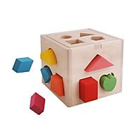 preiswerte Spielzeuge & Spiele-Holzpuzzle Eltern-Kind-Interaktion Hölzern 14 pcs Vorschule Geschenk