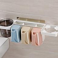 お買い得  浴室用小物-歯磨きコップ 多機能 近代の プラスチック 1個 - メイク用品 バスルームの装飾