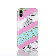 cheap -Case For Apple iPhone X / iPhone 8 IMD Back Cover Marble Soft TPU for iPhone X / iPhone 8 Plus / iPhone 8