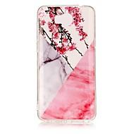 お買い得  携帯電話ケース-ケース 用途 Huawei Y5 III(Y5 2017) パターン バックカバー マーブル ソフト TPU のために Huawei Y5 II / Honor 5