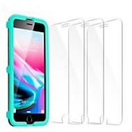 Недорогие Защитные плёнки для экрана iPhone-Защитная плёнка для экрана для Apple iPhone 7 Закаленное стекло 2 штs Защитная пленка для экрана Уровень защиты 9H / 2.5D закругленные углы / Взрывозащищенный