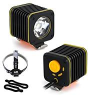 preiswerte Taschenlampen, Laternen & Lichter-Fahrradlicht LED Radlichter Radsport Wasserfest, Tragbar, Mehrere Modi Lithium-Batterie 1200 lm Camping / Wandern / Erkundungen / Radsport