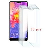 お買い得  スクリーンプロテクター-スクリーンプロテクター のために Huawei Huawei P20 Pro 強化ガラス 10枚 スクリーンプロテクター 硬度9H / 傷防止