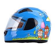 お買い得  -YEMA 203 フルフェイス 子供 男女兼用 オートバイのヘルメット 耐衝撃 / 紫外線カット / 防風