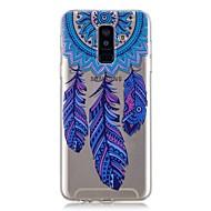 Недорогие Чехлы и кейсы для Galaxy А-Кейс для Назначение SSamsung Galaxy A6+ (2018) / A6 (2018) Прозрачный / С узором Кейс на заднюю панель Ловец снов Мягкий ТПУ для A6 (2018) / A6+ (2018) / A3 (2017)