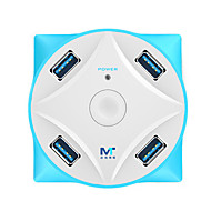 preiswerte USB Hubs & Switches-7 USB-Hub USB 3.0 USB 3.0 Mit Kartenleser (n) Daten-Hub