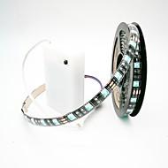 abordables Tiras de Luces LED-ZDM® 2m Sets de Luces 60 LED 5050 SMD 1 x interruptor de atenuación RGB Cortable / Impermeable / Decorativa Pilas AA alimentadas 1 juego
