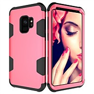 Case For Samsung Galaxy S9 Plus / S9 Shockproof Full Body Cases Solid Colored Hard PC for S9 / S9 Plus / S8 Plus
