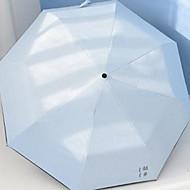 Недорогие Защита от дождя-пластик / Нержавеющая сталь Все Новый дизайн / Творчество Складные зонты