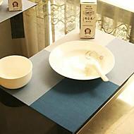abordables Salvamanteles-Moderno CLORURO DE POLIVINILO Cuadrado Juego de Mesa Estampado Antiadherente / Anti desgaste / A prueba de dispersión Decoraciones de mesa 1 pcs
