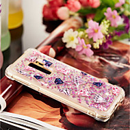 Недорогие Чехлы и кейсы для Galaxy S8-Кейс для Назначение SSamsung Galaxy S9 Plus / S9 Защита от удара / Движущаяся жидкость / Прозрачный Кейс на заднюю панель Геометрический рисунок Мягкий ТПУ для S9 / S9 Plus / S8 Plus