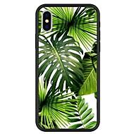Недорогие Кейсы для iPhone 8 Plus-Кейс для Назначение Apple iPhone X / iPhone 8 Plus С узором Кейс на заднюю панель Растения / Мультипликация Твердый Акрил для iPhone X / iPhone 8 Pluss / iPhone 8