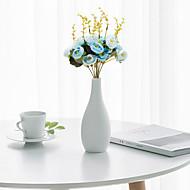 abordables Flores Artificiales-Flores Artificiales 1 Rama Clásico Moderno / Contemporáneo / Estilo Pastoral Camelia Flor de Mesa