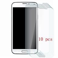 Недорогие Чехлы и кейсы для Galaxy S-Защитная плёнка для экрана для Samsung Galaxy S5 Закаленное стекло 10 ед. Защитная пленка для экрана Уровень защиты 9H / Защита от царапин