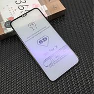 Недорогие Защитные плёнки для экрана iPhone-Защитная плёнка для экрана для Apple iPhone X Закаленное стекло 1 ед. Защитная пленка для экрана Уровень защиты 9H / Фильтр синего света / 3D закругленные углы