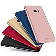 Недорогие Чехлы и кейсы для Galaxy S9-Кейс для Назначение SSamsung Galaxy S9 Plus / S9 Матовое Кейс на заднюю панель Однотонный Твердый ПК для S9 / S9 Plus / S8 Plus