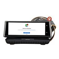 abordables DVR de Coche-Factory OEM 1080p HD / Visión nocturna DVR del coche 140 Grados Gran angular 12 MP 8 pulgada IPS Dash Cam con WIFI / GPS / Visión nocturna Registrador de coche