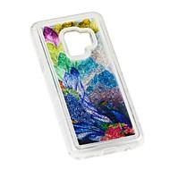 Недорогие Чехлы и кейсы для Galaxy S9-Кейс для Назначение SSamsung Galaxy S9 Plus / S8 Plus Защита от удара / Движущаяся жидкость / Прозрачный Кейс на заднюю панель Животное Мягкий ТПУ для S9 / S9 Plus / S8 Plus