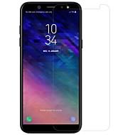 お買い得  Samsung 用スクリーンプロテクター-スクリーンプロテクター のために Samsung Galaxy A6 (2018) 強化ガラス / PET 1枚 フロント&カメラレンズプロテクター ハイディフィニション(HD) / 硬度9H / 防爆