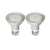 お買い得  LED スポットライト-EXUP® 2pcs 7 W 630 lm E26 / E27 LEDスポットライト 7 LEDビーズ SMD 3030 防水 温白色 / クールホワイト / ナチュラルホワイト 85-265 V