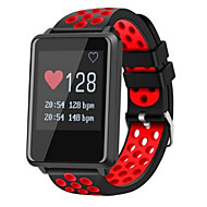 cheap -iPS GF8 Smartwatch Android iOS Bluetooth Sports Waterproof Heart Rate Monitor Blood Pressure Measurement Pedometer Call Reminder Activity Tracker Sleep Tracker Sedentary Reminder / Touch Screen