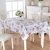 abordables Mantelería-Moderno CLORURO DE POLIVINILO Cuadrado Forros de Mesa Floral Decoraciones de mesa 1 pcs